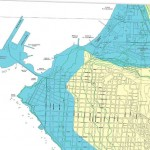 Mapas del Shoa muestran cómo será el tsunami en el norte de Chile.