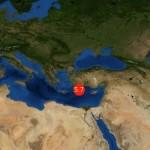 Terremoto de magnitud 5,7 en el este del Mar Mediterráneo