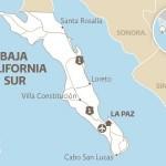 Sismo de 6.2 sacude península de Baja California