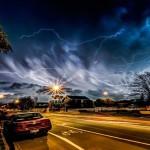 Captan extraña tormenta en Nueva Zelandia.