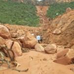 Espantoso hundimiento y fisura de tierra en Brasil.