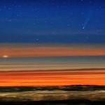 Dos cometas rumbo al sol.