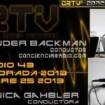 """""""ENTREVISTA AUGUSTO PEREZ ALERTA PROFETICA CONCIENCIA RADIO EPISODIO 43 TEMPORADA 2013″,Aporte Hna. Maribel"""