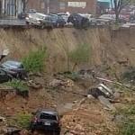 Enorme agujero en Baltimore se traga vehículos y genera el caos, aporte Hna. Norma.M