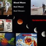 Mala luna subiendo ¿Es la luna roja un presagio al mundo de aumento hacia mayores peligros?.