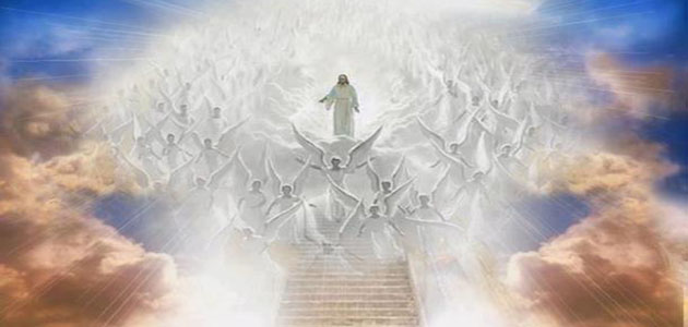 the-angels-jesus-on-rapture-day