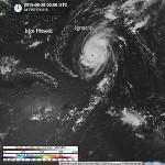 Kilo, Ignacio y Jimena, tres huracanes de categoria 4 de forma simultanea, hecho excepcional