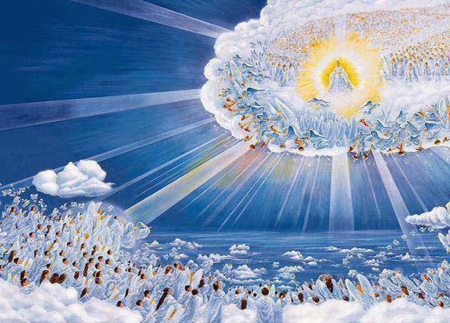 """Visión del Arrebatamiento de la Iglesia"""", Aporte de Jesús viene ..."""