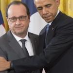 """En reunión con Hollande, Obama expresa solidaridad a Francia"""
