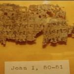"""""""Encuentran un papiro del Nuevo Testamento del año 250 DC en una subasta en eBay"""", Hno. Antonio C."""