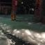 Misteriosa espuma cubre calles en Japón después de terremoto.Aporte Hnas. Maria Elena y Norma M.