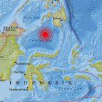 Sismo de magnitud de 7,3 entre Indonesia y Filipinas