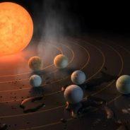 Científicos descubren siete planetas similares a la Tierra a una distancia de 40 años luz