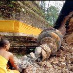 Terremoto azota a Myanmar y Tailandia. El sismo de magnitud 6,8 en la escala de Richter mató a al menos 74 personas en el noreste de Myanmar y a una en Tailandia.