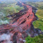 Kilauea en erupción.