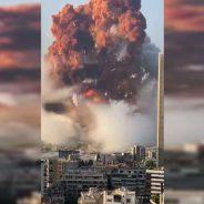 """Explosión en Beirut: destrucción generalizada y una cifra """"innumerable"""" de muertos y heridos en la capital del Líbano"""